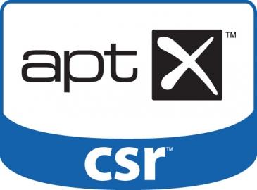 aptX logo van CSR