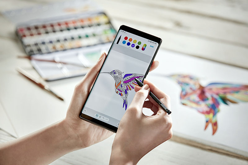 Samsung Galaxy Note 8 pennetje