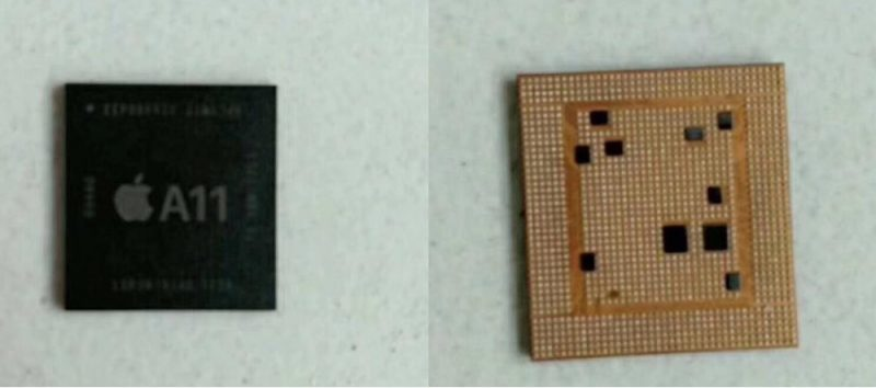 A11-chip voor iPhone 8 en iPhone 7s.