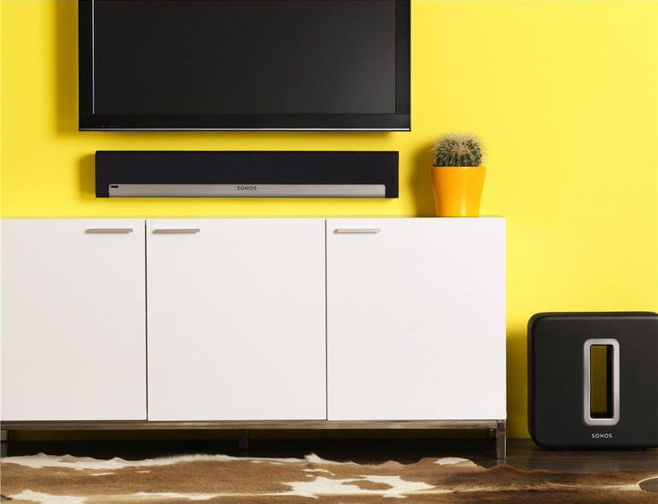 Sonos Playbase woonkamer