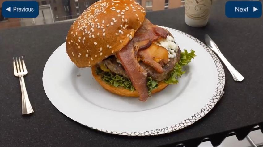 Hamburger bestellen met ARKit.
