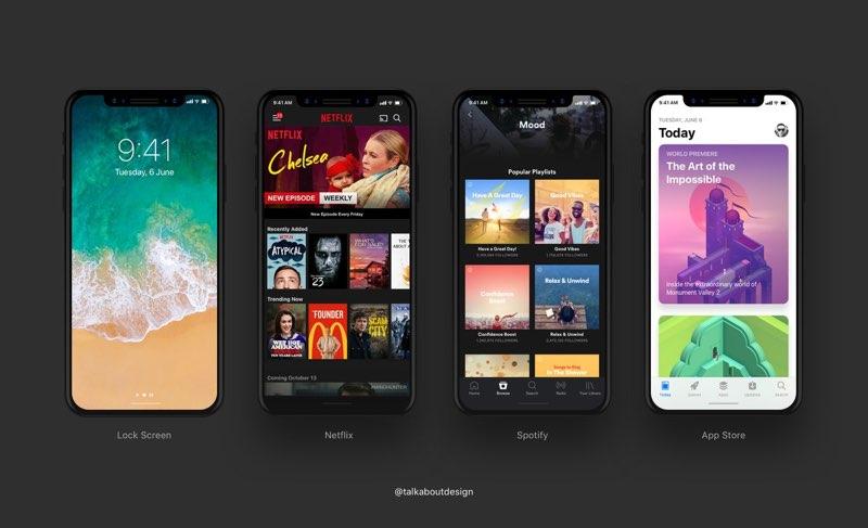 iPhone 8 schermen