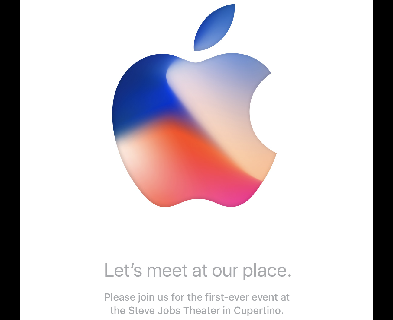 Apple Event 12 september 2017