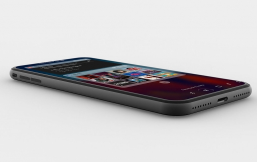 iPhone 8 concept liggend