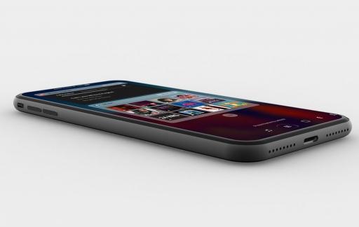 iPhone 8 concept liggend