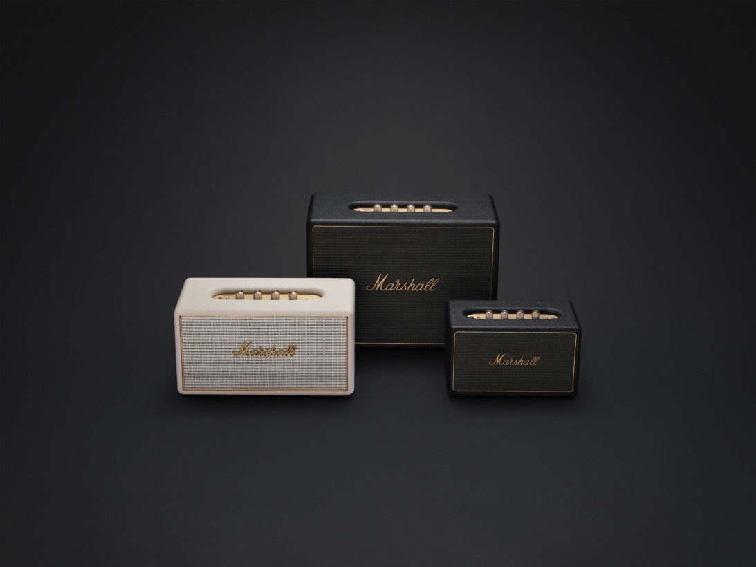 Marshall multi-room speakers.