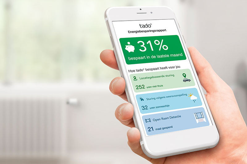 Tado thermostaat: energiebesparing met Slimme Klimaat Assistent