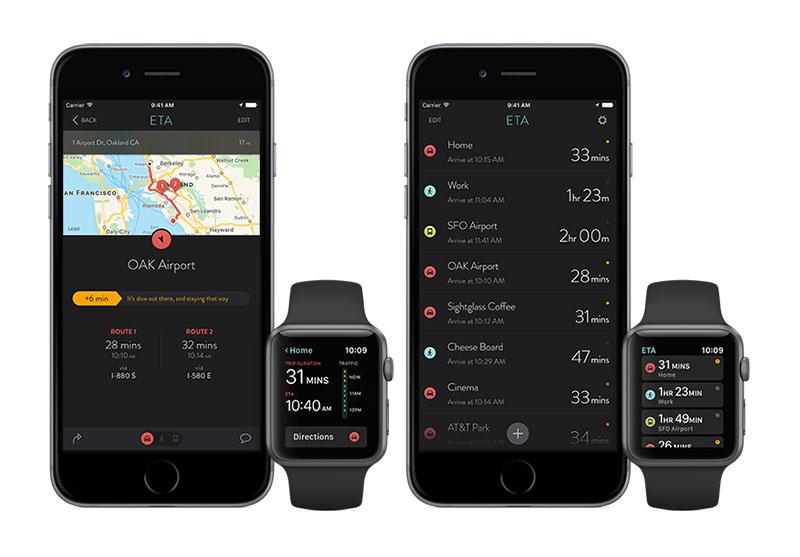 ETA-app