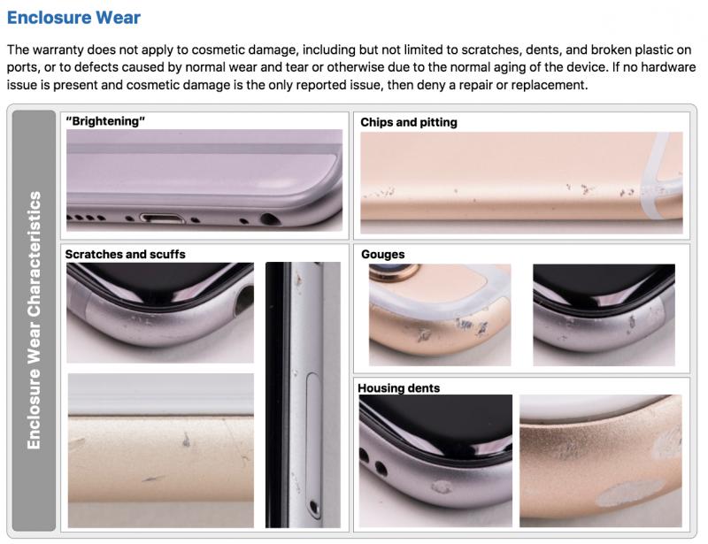 Apple-garantie bij schade aan toestel