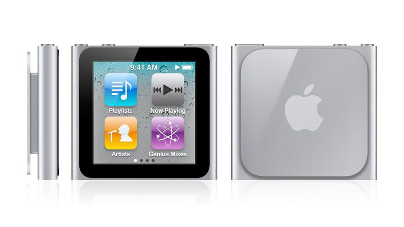 6e generatie iPod nano grijs