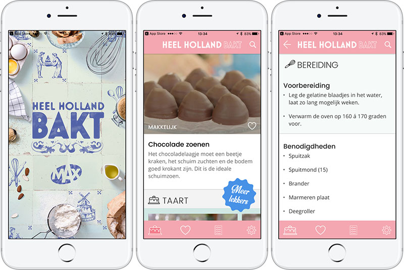 Heel Holland Bakt-app