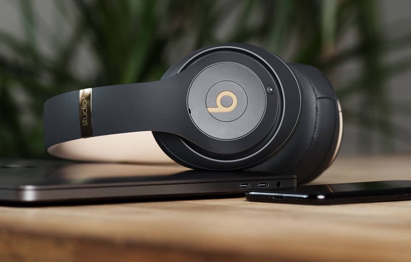 Beats Studio3 Wireless voor iPhone en Mac.