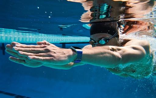 Fitbit Ionic zwemmen