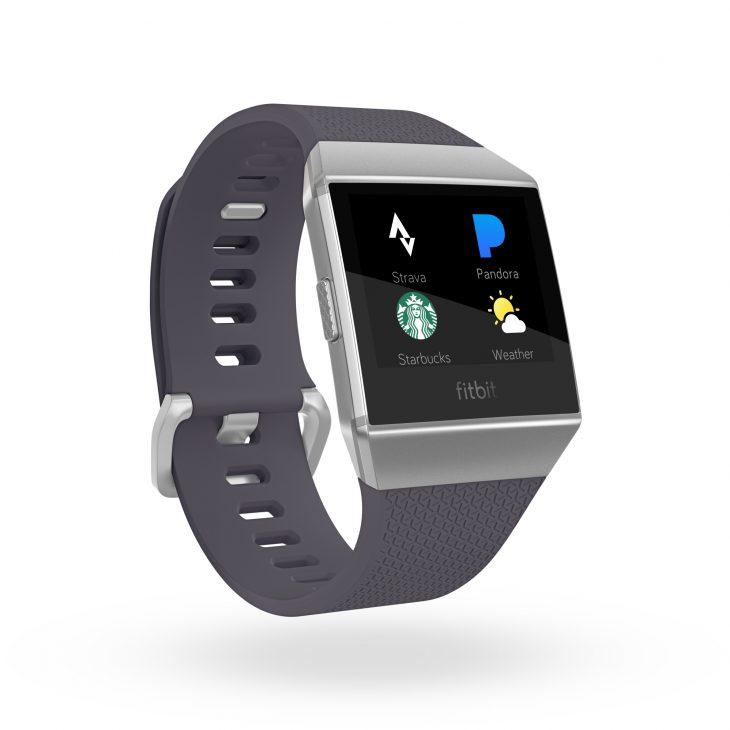 Fitbit Ionic grijsblauw