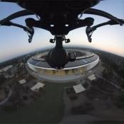 Dronevideo Apple Park 360 graden