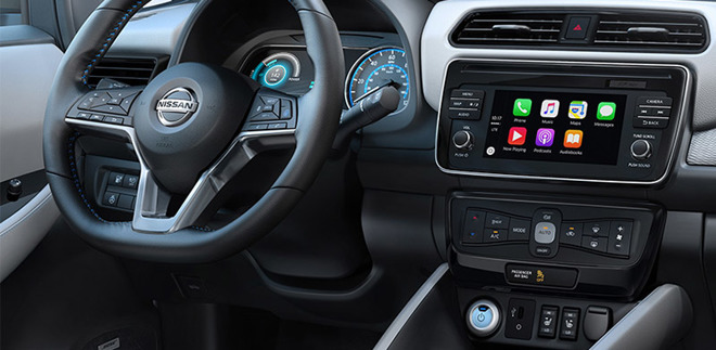 Nissan Leaf dashboard