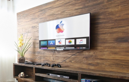 Apple TV Events-app met livestream voor iPhone-event september 2017.