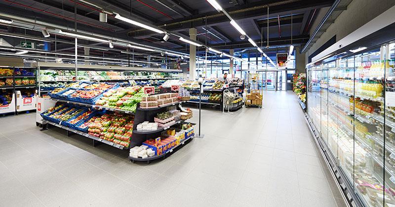 Delhaize supermarkt-app