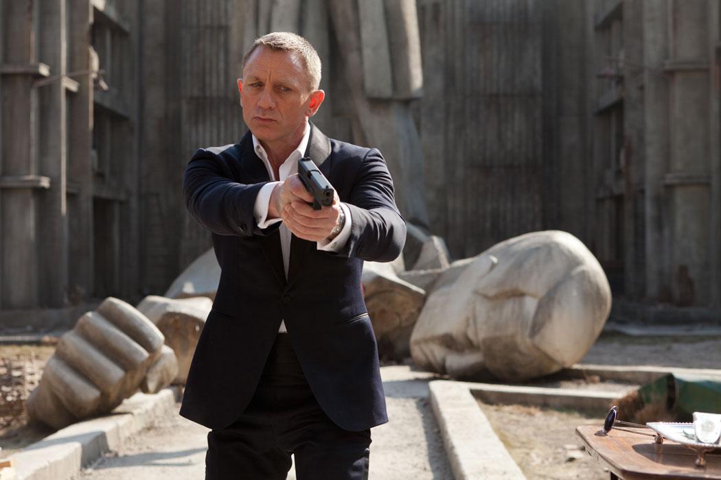 Daniel Craig als James Bond.