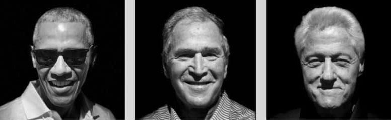 Portretten presidenten met iPhone 8 Plus portretfunctie