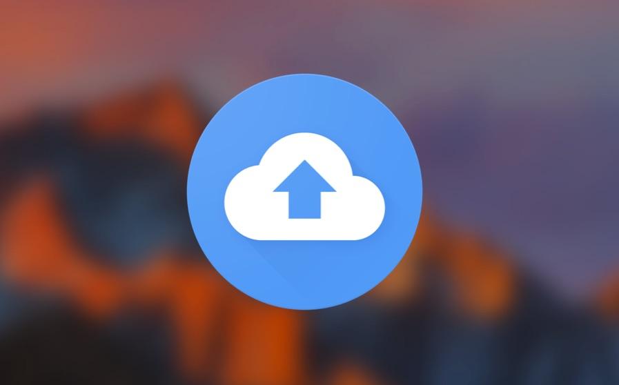 Icoon van Google Backup & Sync voor de Mac.