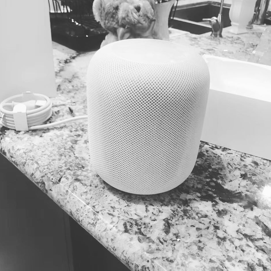 HomePod China op Instagram