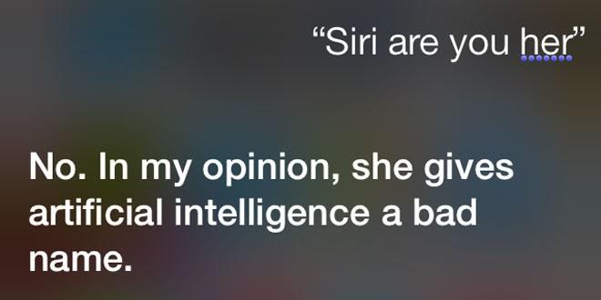 Siri en Her