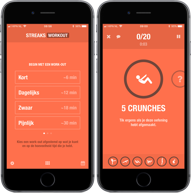 Fitness-app Streaks Workout is Apple's gratis App van de Week