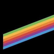 Nieuwe wallpapers ontdekt in iOS 11: retro regenboog, bloemen en diepzwart