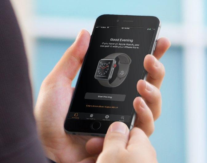 Apple Watch LTE koppelen