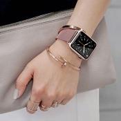 'Apple Watch in twee nieuwe kleuren: Blush Gold aluminium en grijs keramiek'