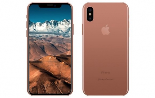 iPhone X Blush Gold