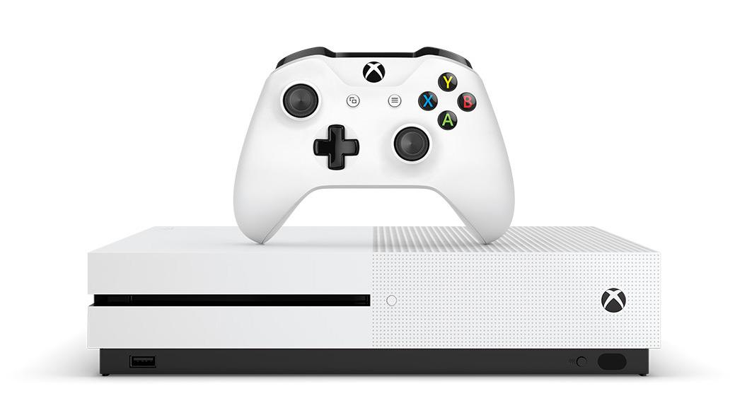 Xbox One S met HDR en Blu-ray