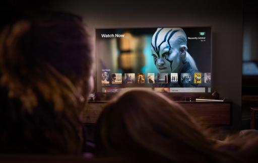 Apple TV met 4K HDR