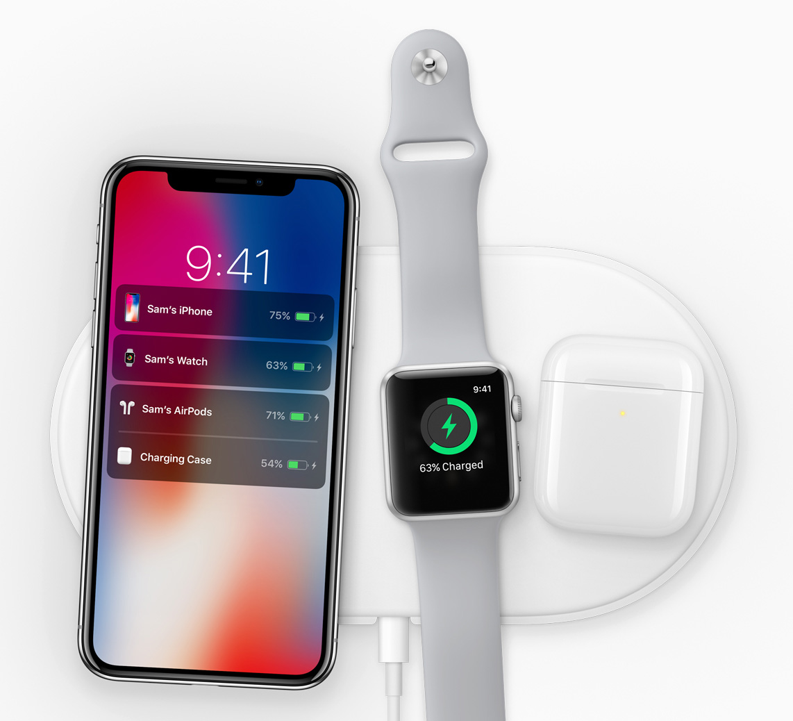 iPhone X oplader AirPower
