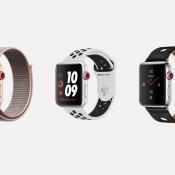 Apple Watch series 3 lineup