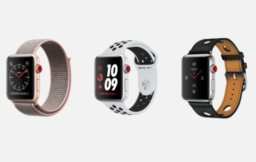 Apple Watch series 3 lineup
