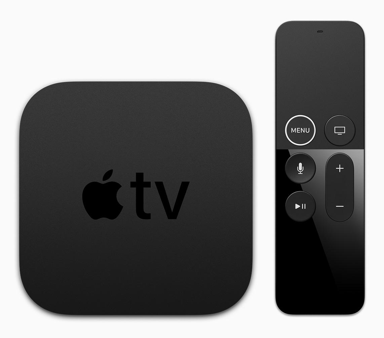 Apple TV 4K met nieuwe Remote.