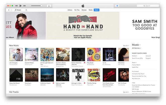 iTunes zonder App Store
