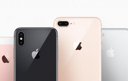 iPhone vergelijking en line-up voor het najaar van 2017.