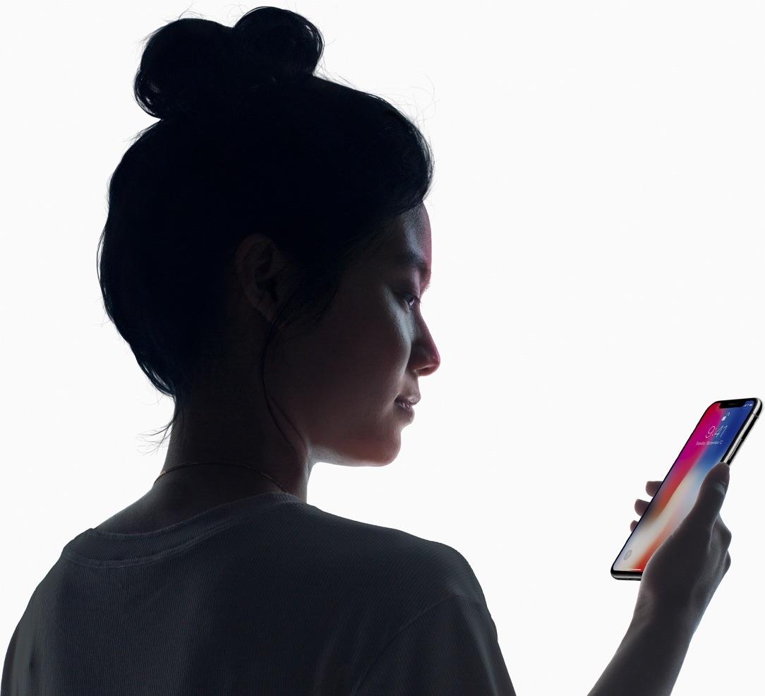 Face ID op de iPhone X gebruiken.