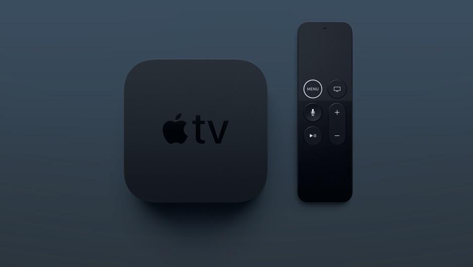 Apple TV 4K met vernieuwde Siri Remote.