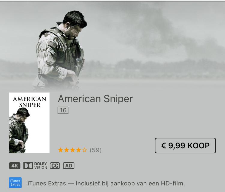'American Sniper' in 4K HDR