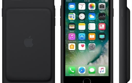 Smart Battery Case voor de iPhone 7.
