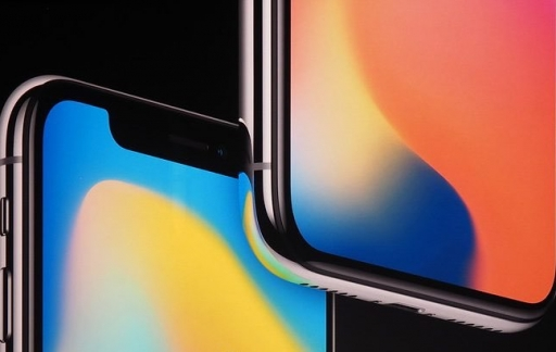 Super Retina op de iPhone X