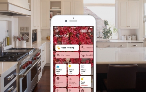 HomeKit scenes in de keuken