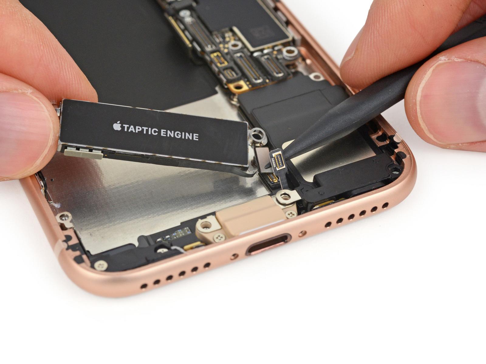 Vleeskleurige Lightning-poort in nieuwe iPhone 8