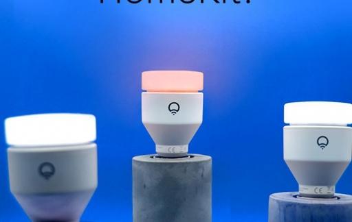 LIFX-lampen met HomeKit.