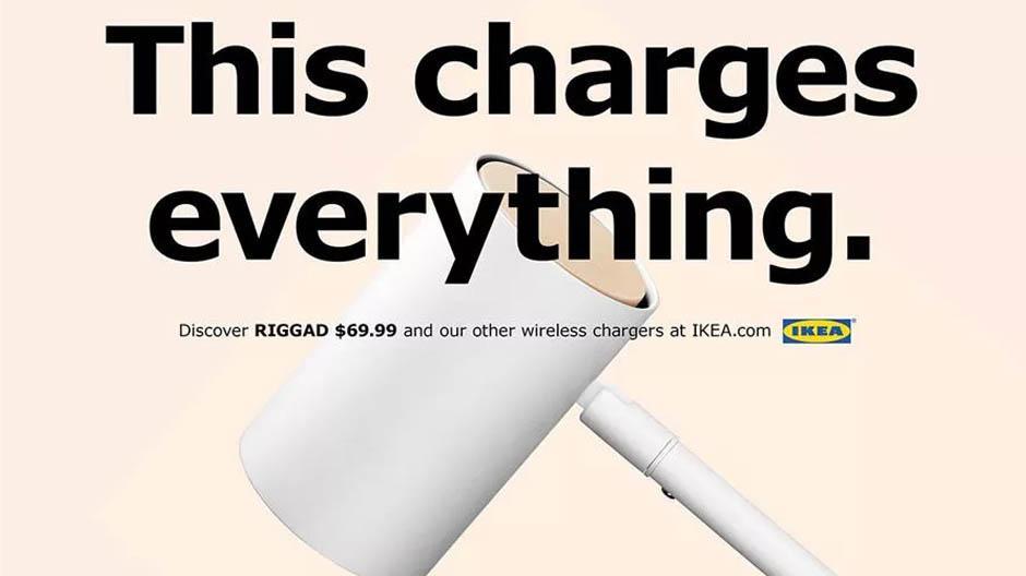IKEA-lamp reclame