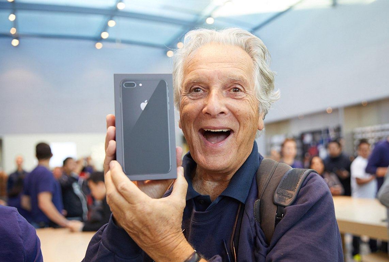 iPhone 8 heeft last van krakende oorspeaker